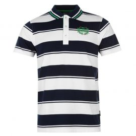 Everlast Yarn Dye Bold Stripe Polo Mens Navy/White