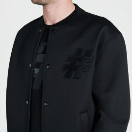 Five Street Bomber Jacket Mens Black
