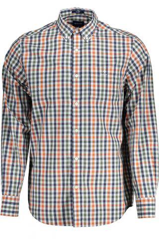 GANT košile s dlouhým rukávem VERDE