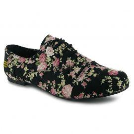 Golddigga Floral Ladies Shoes tmavě modrá