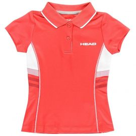 HEAD Club G Polo Shirt Junior Red