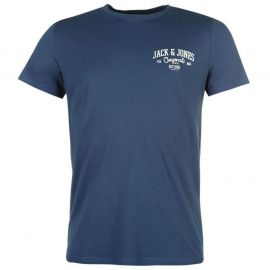 Jack and Jones Originals Howdy T Shirt Blue