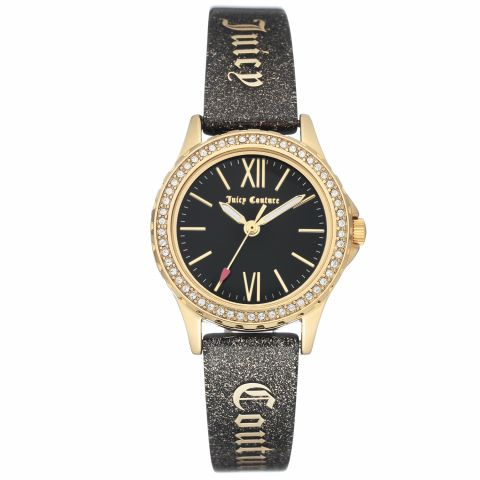 Juicy Couture Watch JC/1068BKBK Gold