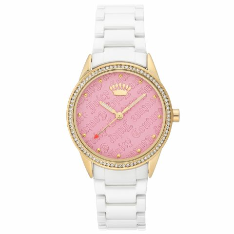 Juicy Couture Watch JC/1172PKWT Gold