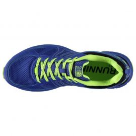 Karrimor Caracal Mens Trail Running Shoes Blue/Lime