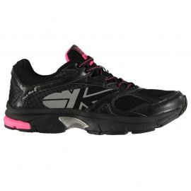 Karrimor Pace Run 2 Ladies Running Shoes Black/Pink