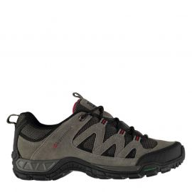 Karrimor Summit Junior Walking Shoes Charcoal/Red