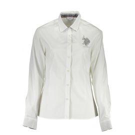 Košile U.S. POLO ASSN. košile s dlouhým rukávem BIANCO