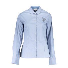 Košile U.S. POLO ASSN. košile s dlouhým rukávem BLU