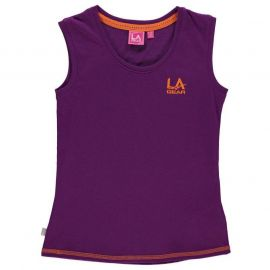 LA Gear Sleeveless Tank Top Junor Girls Purple