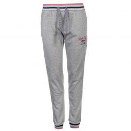 Lee Cooper Glitzy Closed Hem Pants Ladies Grey Marl