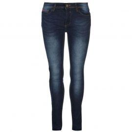 Lee Cooper Skinny Hem Jeans Ladies Dark Wash