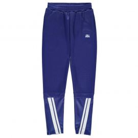 Lonsdale 2 Stripe Tapered Pants Junior Boys Royal