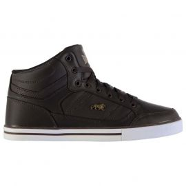 Lonsdale Canons Mens Trainers Brown/White
