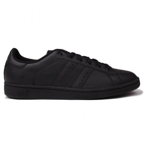 Lonsdale Leyton Leather Mens Trainers Black/Black
