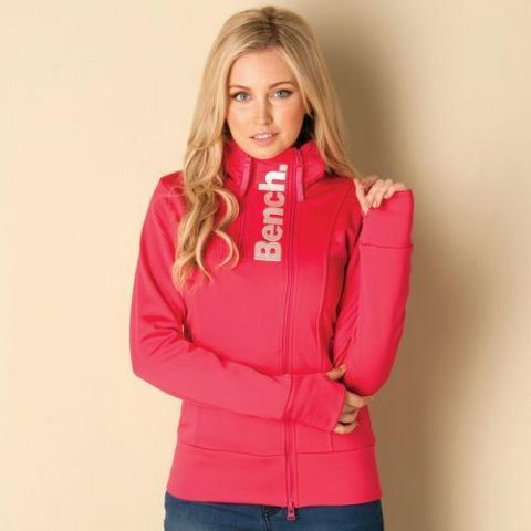 Mikina Bench Womens Sporty Sandstone Track Top Pink