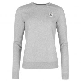 Mikina Converse Basic Crew Sweatshirt Grey