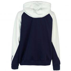 Mikina LA Gear Cut and Sew Full Zipped Hoody Ladies Grey/Rose