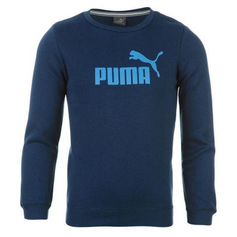 Mikina Puma No1 Logo Crew Neck Sweater Boys Blue/Blue