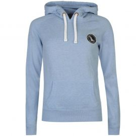 Mikina s kapucí SoulCal Signature OTH Hoodie Pale Blue Marl