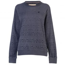 Mikina SoulCal Native Crew Sweater Ladies Charcoal