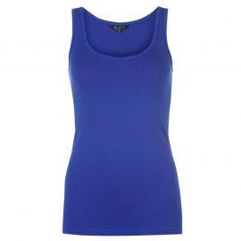 Miso Tank Vest Ladies Royal Blue
