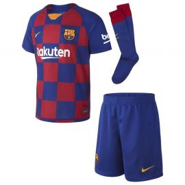 Nike Barcelona Home Mini Kit 2019 2020 Royal Blue