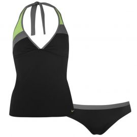 Nike College Halter Tankini Ladies Black