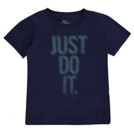 Nike Lenticular JDI T Shirt Infant Boys Binary Blue