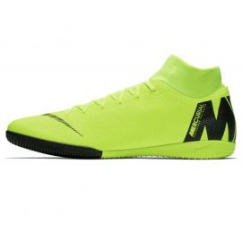 Nike Mercurial Superfly Academy DF Mens Indoor Football Trainers Volt/Black