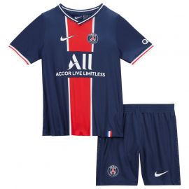 Nike Paris Saint Germain Home Mini Kit 2020 2021 MIDNIGHT NAVY/WHITE