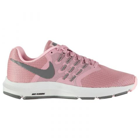 Nike Run Swift Trainers Ladies Pink/Grey