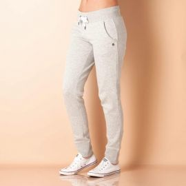 Only Womens Finley Jog Pants Grey Marl