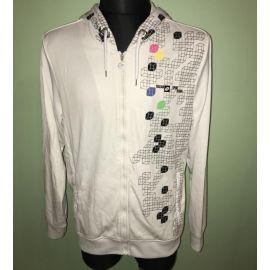 Pánská bunda na zip  Lotto bílá