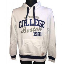 Pánská mikina Supporter club College Boston 1981 bílá