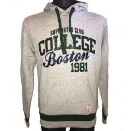 Pánská mikina Supporter club College Boston 1981 šedá