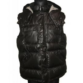 Pánská zimní vesta hnědá