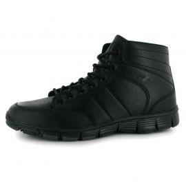 Pánské kotníčkové boty Propeller - černé šněrovací