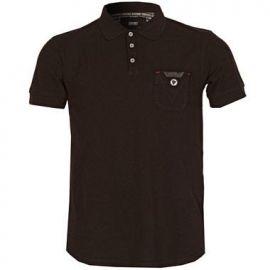 Pánské polo tričko Savant - Černé