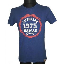 Pánské tričko Lifeguard 1975 Hawaii Country modrá