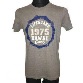 Pánské tričko Lifeguard 1975 Hawaii Country šedá