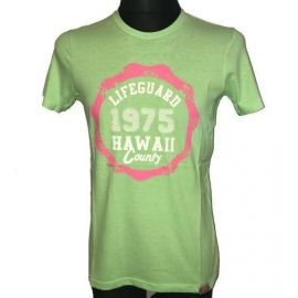 Pánské tričko Lifeguard 1975 Hawaii Country zelená