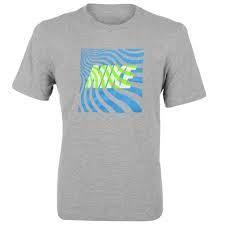 Pánské tričko Nike - šedé