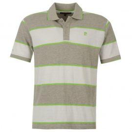 Pánské tričko Pierre Cardin- bílo/šedá