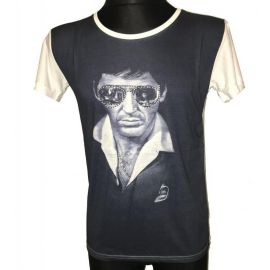 Pánské tričko s krátkým rukávem - Al Pacino bílá