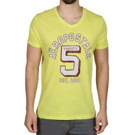 Pánské triko Aeropostale žlutá