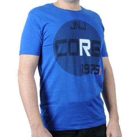 Pánské triko Jack and Jones modrá