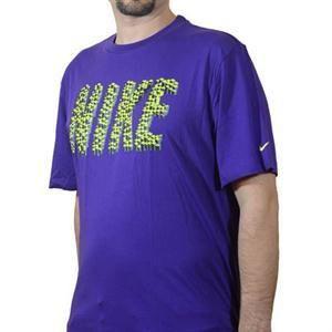 Pánské triko Nike - fialové