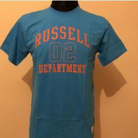 Pánské triko Russel Athletic  modrá