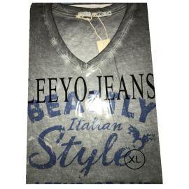 Pánské triko s krátkým rukávem BEASTLY ITALIAN STYLE  Tmavě šedý